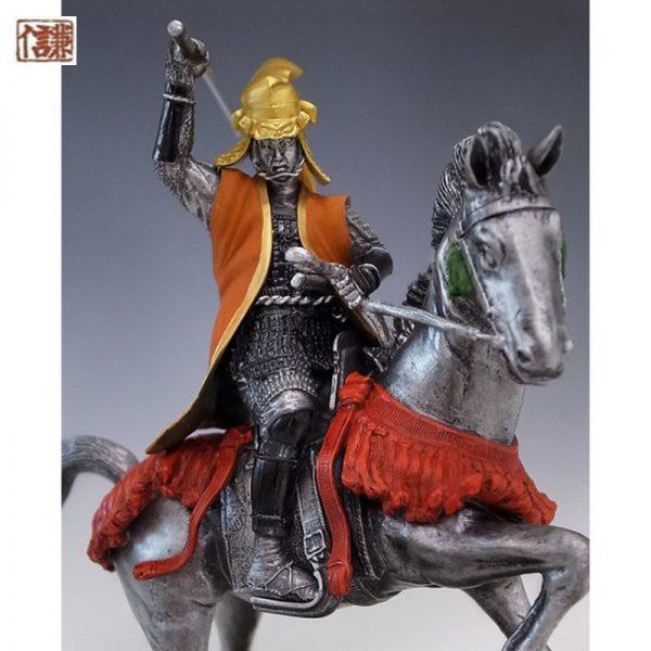 Samurai Warrior-Historical Equestrian Statue Uesugi Kensin